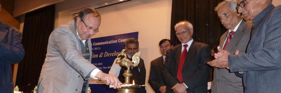 12th Indian Science Communication Congress (ISCC-2012), New Delhi, India, December 17-21, 2012